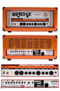 Orange Amplifiers Rockerverb 100 RK100HTC 100W Tube Guitar Amp Head $2349.99