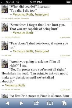 Nice insurgent veronica roth audiobook free download fear doesnt shut you down it wakes you up veronica roth fandeluxe Choice Image