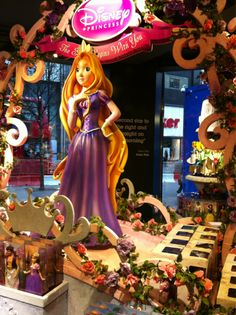 Rapunzel month is almost over :( BUT this is sooo cool! I need to go to a Disney Store ASAP!