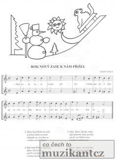 zobcová flétna noty pro děti - Hledat Googlem Sheet Music, Words