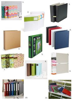 Get Organized: Stylish Binders | Apartment Therapy