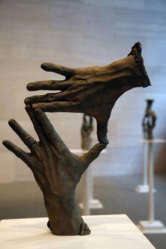 Fifteen Pairs of Hands is a sculptural installation by artist Bruce Nauman