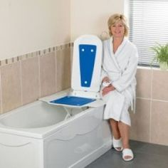 Bathmaster Deltis   €403.13  Difficulties getting into and out of the bath are quickly and easily overcome when using the Bathmaster Deltis. Simple to take in and out of the bath, it separates into two parts for easier lifting and carrying.