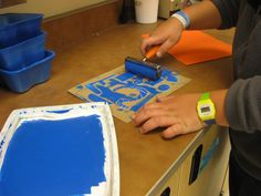 Jasper Johns Collagraph Prints – Please Don& Eat the Artwork Jasper Johns, Collagraph Printmaking, Printmaking Ideas, Third Grade Art, Pop Art, Ecole Art, Art Lessons Elementary, Upper Elementary, Preschool Art