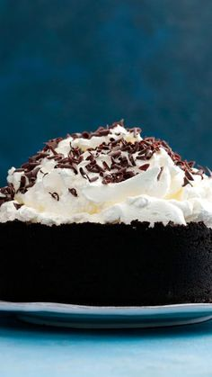 If getting dirty involves eating this mud pie, consider us filthy.