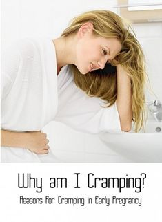 Cramping can be caused by many things during early pregnancy. It isn't always something to worry about! Edits by Becki Rizzuti.