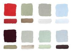 """""""Tutti sappiamo come dipingere una parete blu accostata ad una bianca ma quando vogliamo realizzare una parete dai colori più intriganti? Come abbinare un colore intenso come un melanzana e un colo..."""