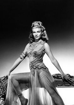 Summers in Hollywood — Rita Hayworth in Salome, 1953 Old Hollywood Glamour, Golden Age Of Hollywood, Vintage Glamour, Vintage Hollywood, Hollywood Stars, Vintage Beauty, Classic Hollywood, Rita Hayworth, Classic Actresses
