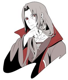 Itachi's so pretty!!! I mean handsome, gahh he's just too effing beautiful