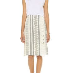 ✨HP x 4✨NWT Tory Burch Smocked Pencil Skirt Delicate patterns lend a stunning textural appeal to this pencil skirt. A pleated ruffle trims the off-center seam in front. Hidden side zipper. Wear with wedges or flats -- PERFECTION! 🎉Host Pick: Back to Basics, Style Obsessions, Office Style & Best In Dresses & Skirts🎉 Tory Burch Skirts Pencil