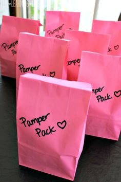 Pamper Pack Gift Bags for Moms, Coworkers or Teachers! (Sponsored)