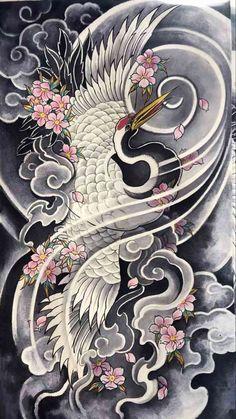 Cloud Tattoo Design, Japan Tattoo Design, Mandala Tattoo Design, Japanese Tattoo Art, Japanese Sleeve Tattoos, Japanese Art, Buddha Tattoos, Body Art Tattoos, Traditional Japanese Tattoo Designs