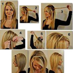 Ladies Hairstyle Tutorial