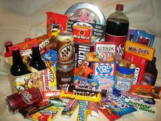 Not sure A&W, Dr Pepper and Sasparella count as sweets!