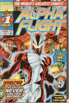 alpha flight comic book covers - Google Search