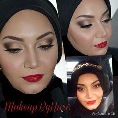 Classic Hollywood makeup look