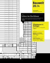 Bauwelt : zeitschrift für das gesamte bauwesen  v.105 no.20 (23 mayo 2014) http://encore.fama.us.es/iii/encore/record/C__Rb1216780?lang=spi
