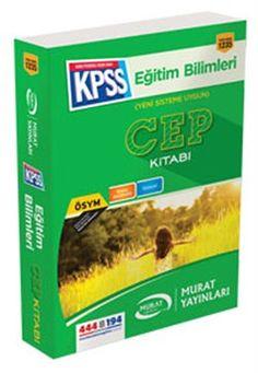 2016 KPSS Eğitim Bilimleri Cep Kitabı Murat Yayınları