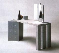 Antonia Astori, Aforismi Dressing Table, for Driade, 1984