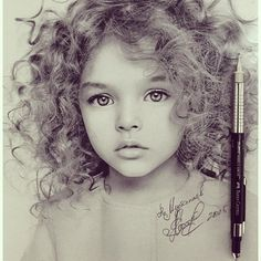 Discover The Secrets Of Drawing Realistic Pencil Portraits.Let Me Show You How You Too Can Draw Realistic Pencil Portraits With My Truly Step-by-Step Guide. Cool Pencil Drawings, Amazing Drawings, Pencil Art, Drawing Sketches, Amazing Art, Art Drawings, Marker Drawings, Sketching, Rose Drawings