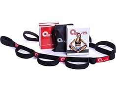 Yoga EVO Elastic Strap for Stretching with 10 Loops  eBook & 35 Online Stretch Video Exercises and Pilates Workouts
