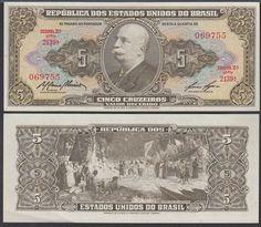 Brazil 5 Cruzeiros, 1963, 176b,