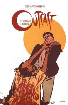 The cover to Outcast by Kirkman & Azaceta #16 (2016), art by Paul Azaceta & Elizabeth Breitweiser