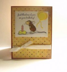 house of mouse birthday card