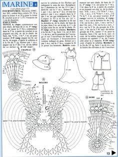 Barbie Crochet Miniatures Crafts and Things Mehr: Barbie Dress Erstellt von Pecunia Milliom Crochet Mit Graph
