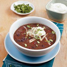 Black Bean Soup || My Recipes