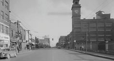 East Market St., Akron, Ohio, in the 1940s