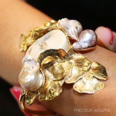 Pearls, IT jewel trends seen in Paris FW 15/16 fashion fairs, more on www.precieuxwebzine.com #Jewel #Fashion #FW15 #Jeweltrend #Precieuxwebzine