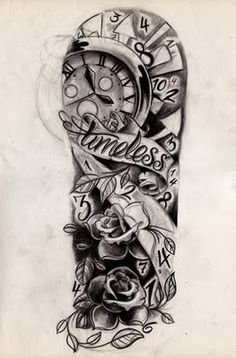 Half Sleeve Tattoo Drawings for women | New Tattoo Pictures