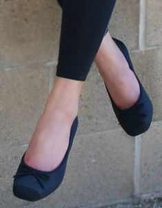I've worn two pairs of black flats out so far. Love them!