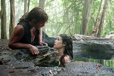 Astrid Bergès-Frisbey and Sam Claflin in Pirates of the Caribbean: On Stranger Tides (2011)