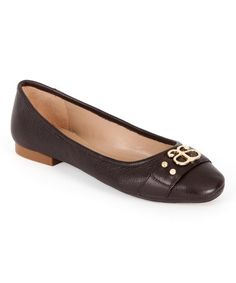 Caroll Leather Ballet Flats oSoiQH42T