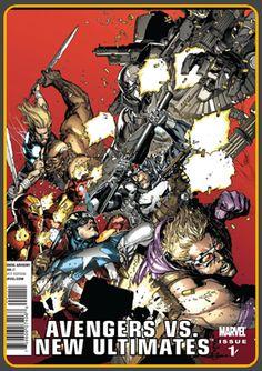 Archivo de Comics: THE ULTIMATES Por Mark Millar