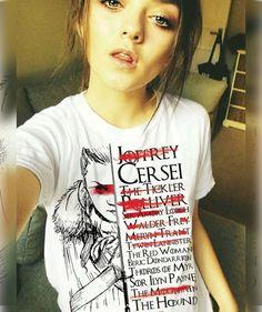Arya Stark hitlist