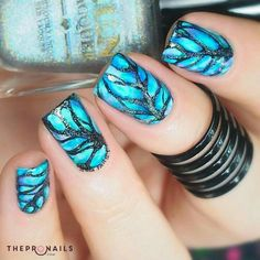 I just want to keep this nails for my entire life <3 #nails #manicure #inspiration