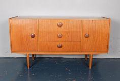1960'S teak sideboard or credenza.