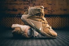 """A Closer Look at the Nike LeBron XII EXT """"Wheat"""""""