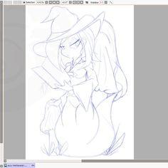 Drawing a beautiful sucy again. wippp ( ˘ ³˘) Drawing S, Insta Art, Mushroom, Fanart, Digital Art, Sketch, Artist, Anime, Beautiful