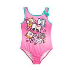 2918af4b7a Nickelodeon JoJo Siwa Big Girls' One Piece Swimsuit - Pink or Blue #apparel  #