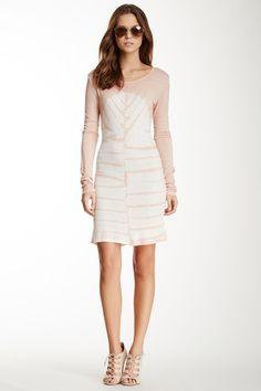 Tie-Dye Long Sleeve Dress by Romeo & Juliet Couture on @HauteLook