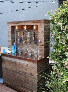 DIY Beer Bar | Beer bar, Bar and Wedding