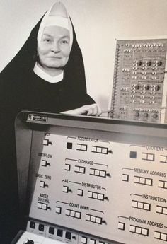 Sister Mary Keller received what many view as the 1st CS PhD, and she also helped develop BASIC