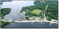 Naples, Maine-----the causeway in the town my Mutti lived in...I spent all my summers here