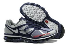 Ink White Metallic Silver Nike Air Max 2012 Men's Running Shoes