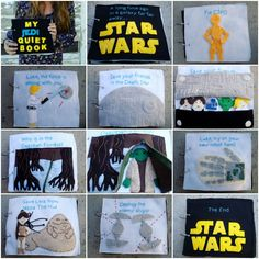 "Get your nerd on and DIY your own Star Wars-themed ""quiet book"""