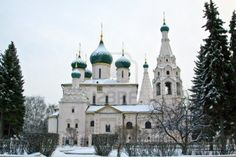 Church of Elijah the Prophet in Yaroslavl, Russia.